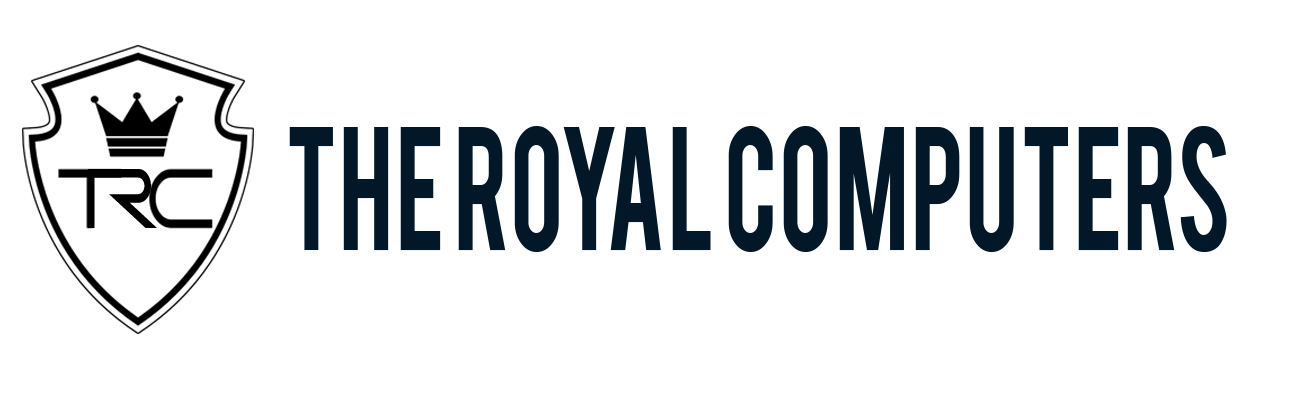 The Royal Computers & Cyber Cafe Logo